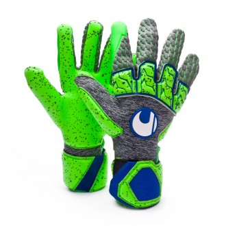 Guante  Uhlsport TensionGreen Supergrip Reflex Dark grey melange-Fluor green-Navy