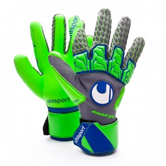 Guante  Uhlsport TensionGreen Absolutgrip Reflex Dark grey melange-Fluor green-Navy