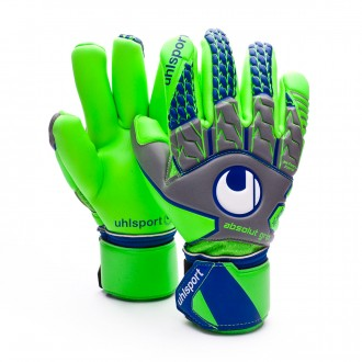 Guante  Uhlsport TensionGreen Absolutgrip Finger Surround Dark grey-Fluor green-Navy