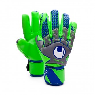 Guante  Uhlsport TensionGreen Supersoft HN Dark grey-Fluor green-Navy
