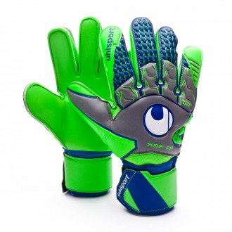 Luvas  Uhlsport TensionGreen Supersoft Dark grey-Fluor green-Navy
