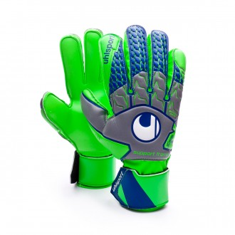 Luvas  Uhlsport TensionGreen Soft SF Dark grey-Fluor green-Navy
