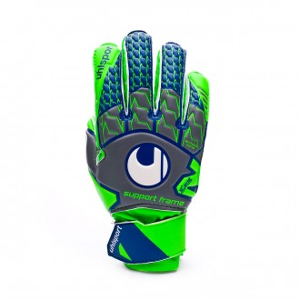 Guanti  Uhlsport TensionGreen Soft SF Junior Dark grey-Fluor green-Navy