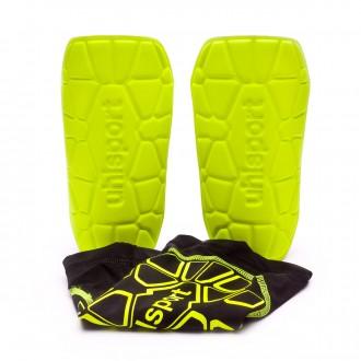 Caneleira  Uhlsport Bionikshield Black-Fluor yellow