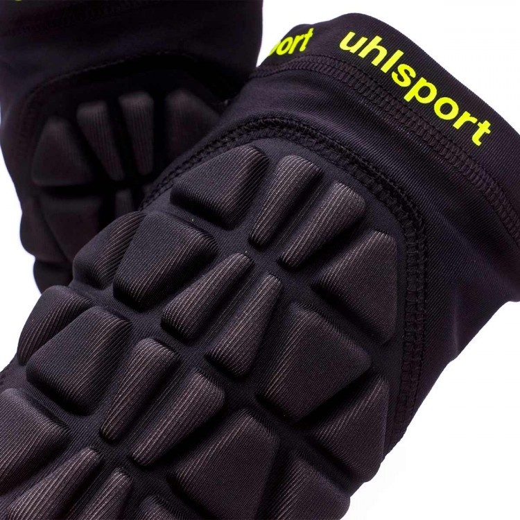 cf513535fb Elbow pads Uhlsport Bionikframe Black-Fluorescent yellow - Football ...