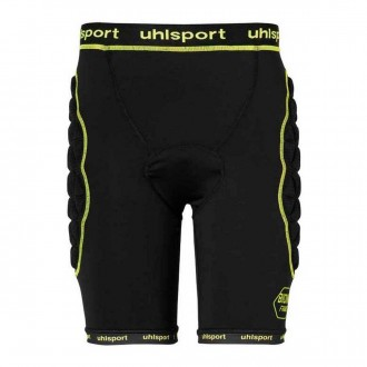 Malla  Uhlsport Bionikframe Padded Black-Fluor yellow
