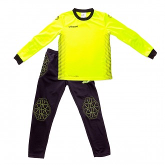 Conjunto  Uhlsport Goalkeeper Set Niño Fluor yellow-Black