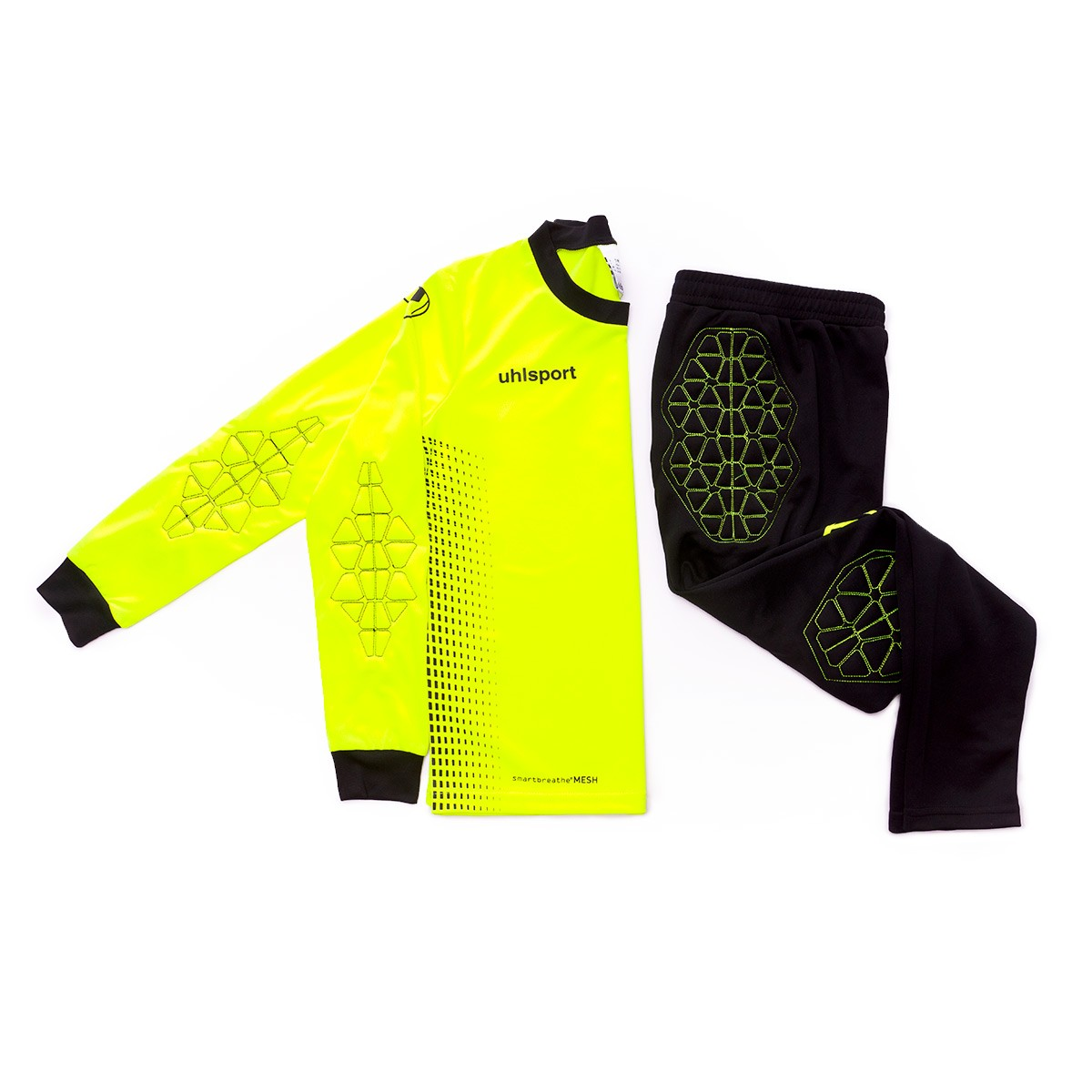e0468fdc4 Kit Uhlsport Kids Goalkeeper Set Fluor yellow-Black - Tienda de fútbol  Fútbol Emotion