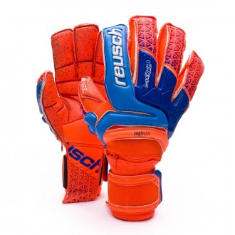 Guante  Reusch Prisma Supreme G3 Fusion Ortho-Tec Shocking orange-Blue-Shocking orange