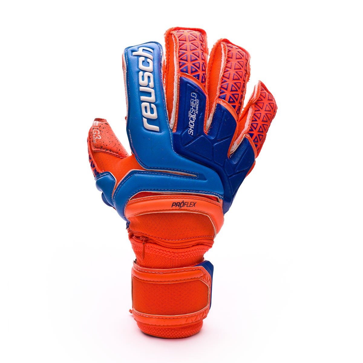b26347f52 Guanti Reusch Prisma Supreme G3 Fusion Ortho-Tec Shocking  orange-Blue-Shocking orange - Negozio di calcio Fútbol Emotion