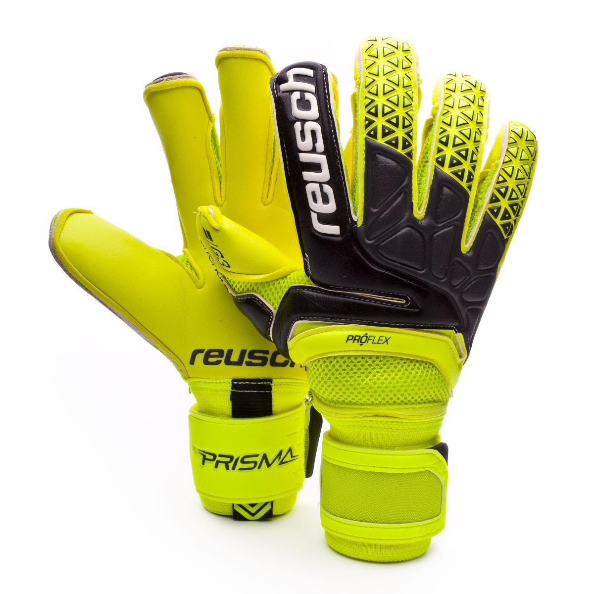 44dcc021df16c Guante de portero Reusch Prisma Pro G3 Evolution Ortho-Tec Safety  yellow-Black-Safety yellow - Tienda de fútbol Fútbol Emotion