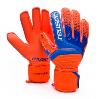 Guante  Reusch Prisma S1 Niño Shocking orange-Blue-Shocking orange