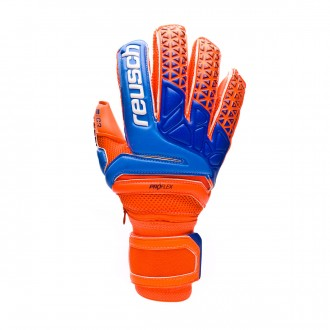 Luvas Reusch Prisma Pro G3 Ortho-Tec Shocking orange-Blue-Shocking orange