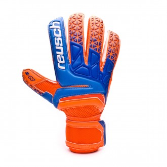 Guante  Reusch Prisma Prime G3 Finger Support Shocking orange-Blue-Shocking orange