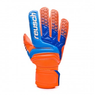 Guante  Reusch Prisma Prime S1 Shocking orange-Blue-Shocking orange