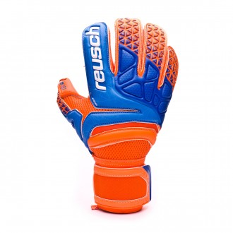 Guante  Reusch Prisma Prime S1 Roll Finger Shocking orange-Blue-Shocking orange