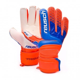 Glove  Reusch Kids Prisma SG  Shocking orange-Blue