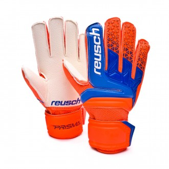 Glove  Reusch Kids Prisma RG Easy Fit Shocking orange-Blue