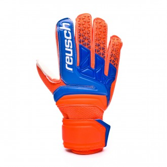 Guante  Reusch Prisma RG Easy Fit Junior Shocking orange-Blue