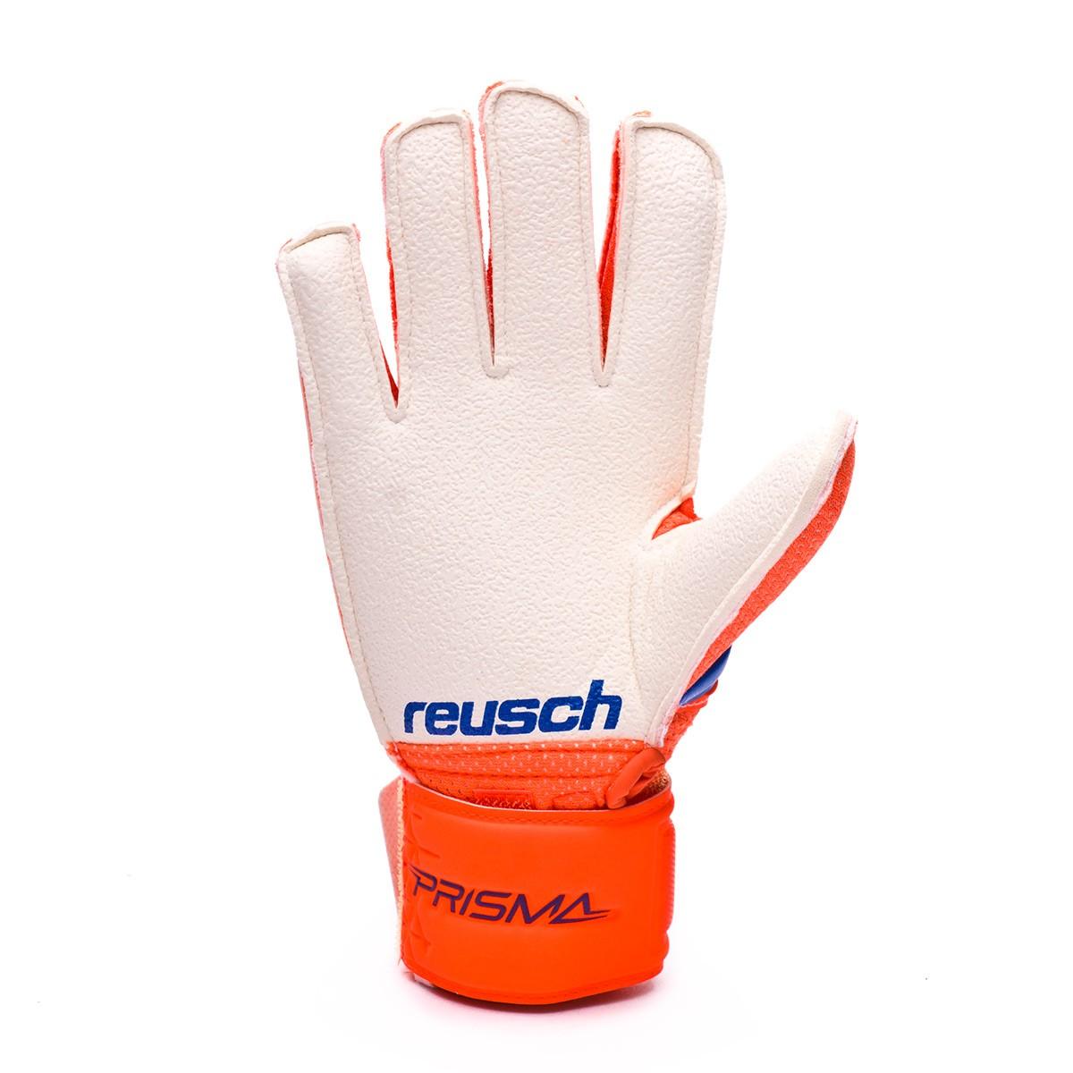 7459ea69eeb Guante de portero Reusch Prisma RG Easy Fit Junior Shocking orange-Blue -  Tienda de fútbol Fútbol Emotion