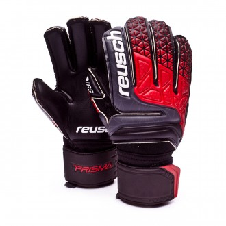 Glove  Reusch Prisma Prime R3 Niño Black-Fire red-Black