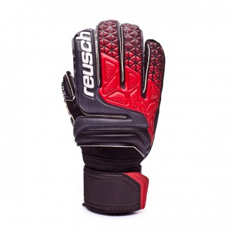 Guante  Reusch Prisma Prime R3 Niño Black-Fire red-Black