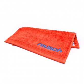 Towel  Reusch Reusch GK Towel Match Shocking orange-Blue