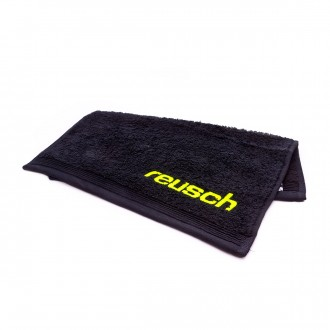 Towel  Reusch Reusch GK Towel Match Balck-Safety yellow