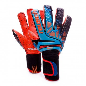 Glove  Reusch Prisma Pro G3 Fusion Ortho Tec Blue-Black-Orange