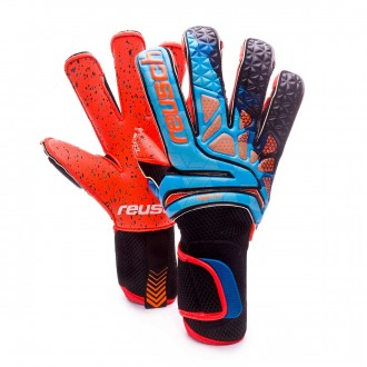 Luvas  Reusch Prisma Pro G3 Fusion Evolution Blue-Black-Orange