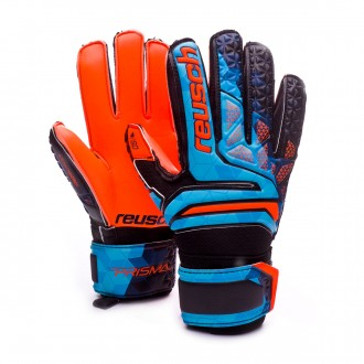 Guante  Reusch Prisma  SD Finger Support Niño Blue-Black-Orange