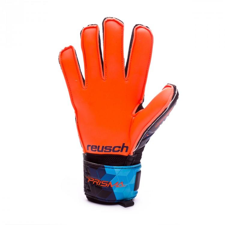 Guante de portero Reusch Prisma SD Finger Support Niño Blue-Black ... 5baa86ae64444