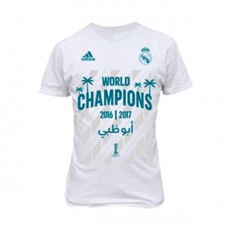 Camiseta  adidas Real Madrid FIFA World Champion 2017 Niño White