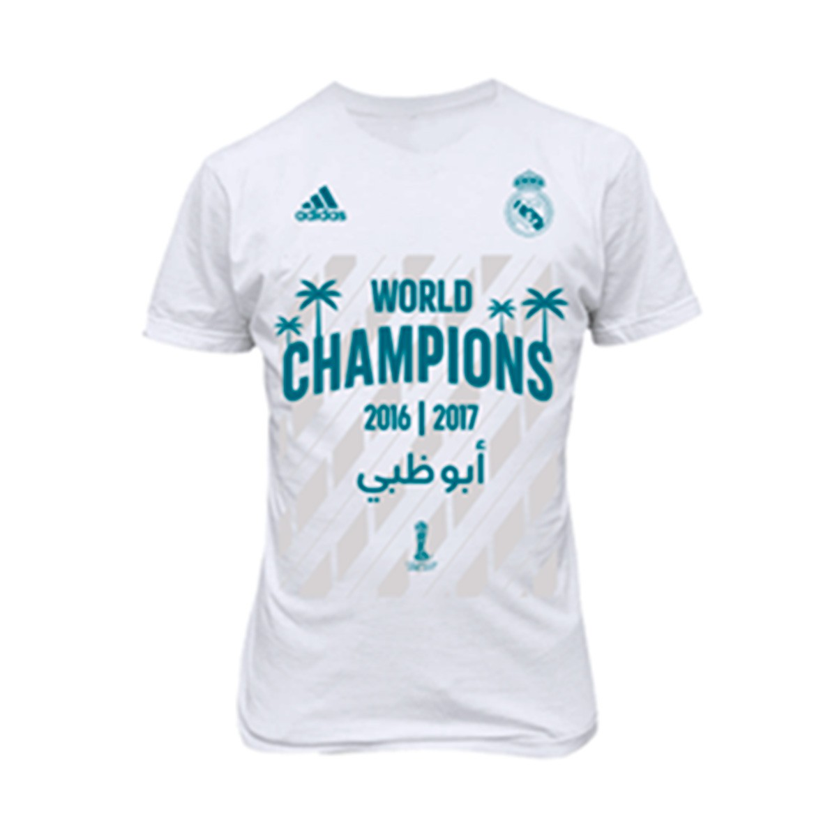 2ffc5456a97a9 Camiseta adidas Real Madrid FIFA World Champion 2017 White - Tienda de  fútbol Fútbol Emotion