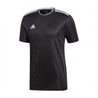 Camiseta  adidas Condivo 18 m/c Black-White