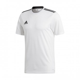 Camiseta  adidas Condivo 18 m/c White-Black