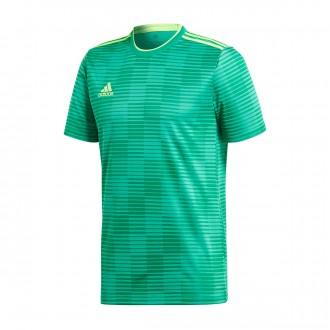 Camiseta  adidas Condivo 18 m/c Bold green-Solar green