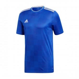 Camiseta  adidas Condivo 18 m/c Bold blue-White