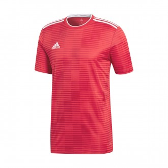 Camiseta  adidas Condivo 18 m/c Power red-White