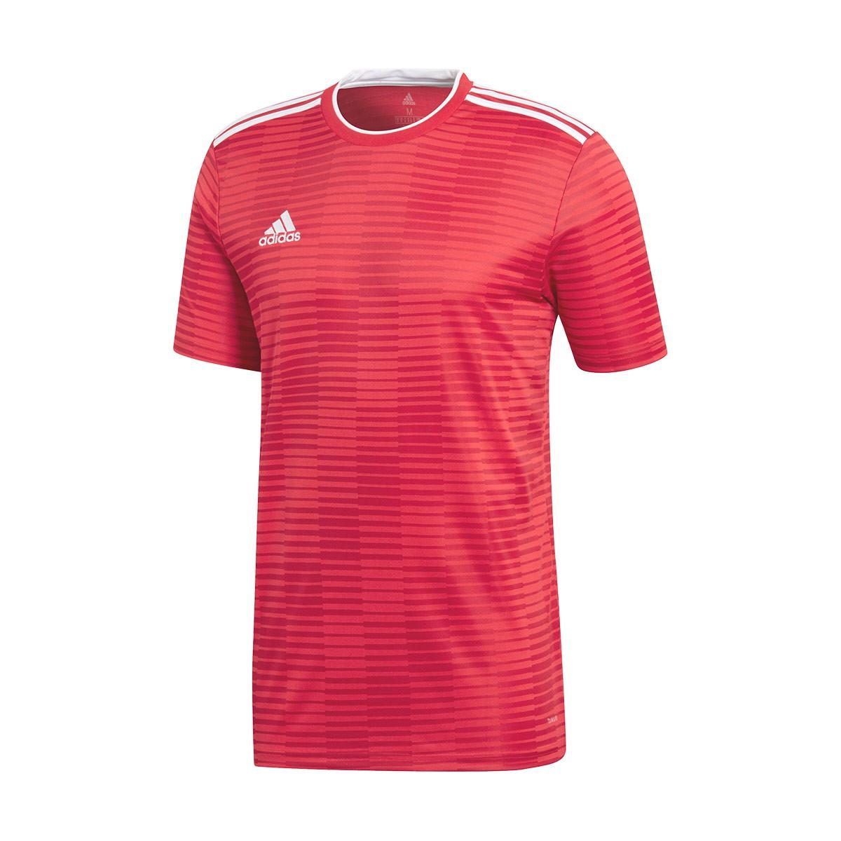 55fab704bf21 Jersey adidas Condivo 18 m c Power red-White - Football store Fútbol ...