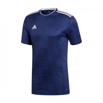 Camiseta  adidas Condivo 18 m/c Dark blue-White