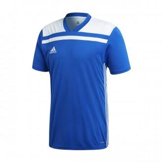 Camiseta  adidas Regista 18 m/c Bold blue-White
