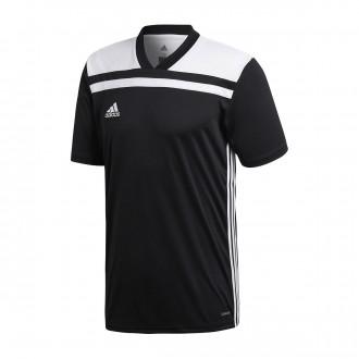 Camiseta  adidas Regista 18 m/c Black-White