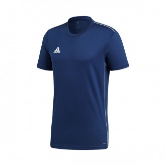 Jersey  adidas Core 18 Training m/c Dark blue-White