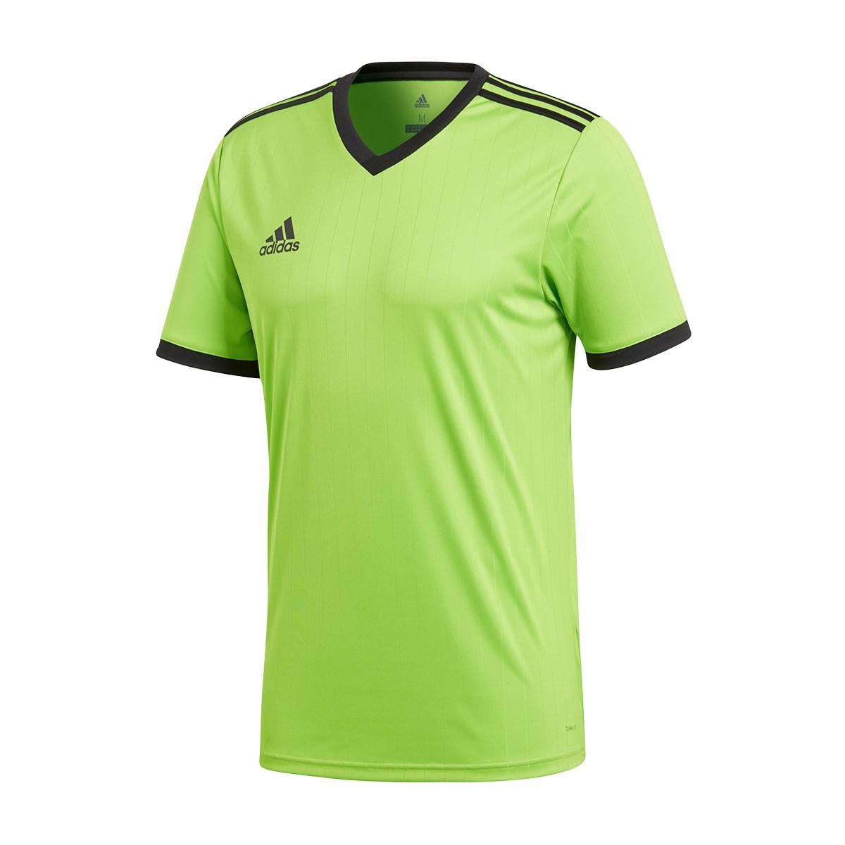 4971ae055 Jersey adidas Tabela 18 m/c Semi solar green-Black - Tienda de fútbol  Fútbol Emotion
