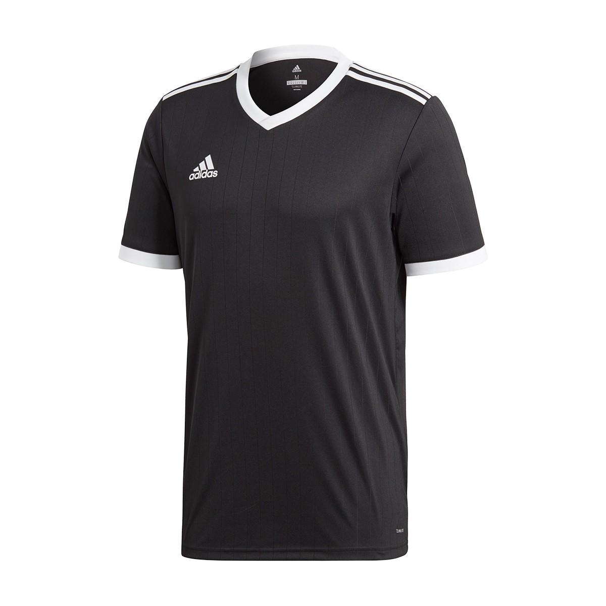 8e3730312 Jersey adidas Tabela 18 m/c Black-White - Tienda de fútbol Fútbol Emotion