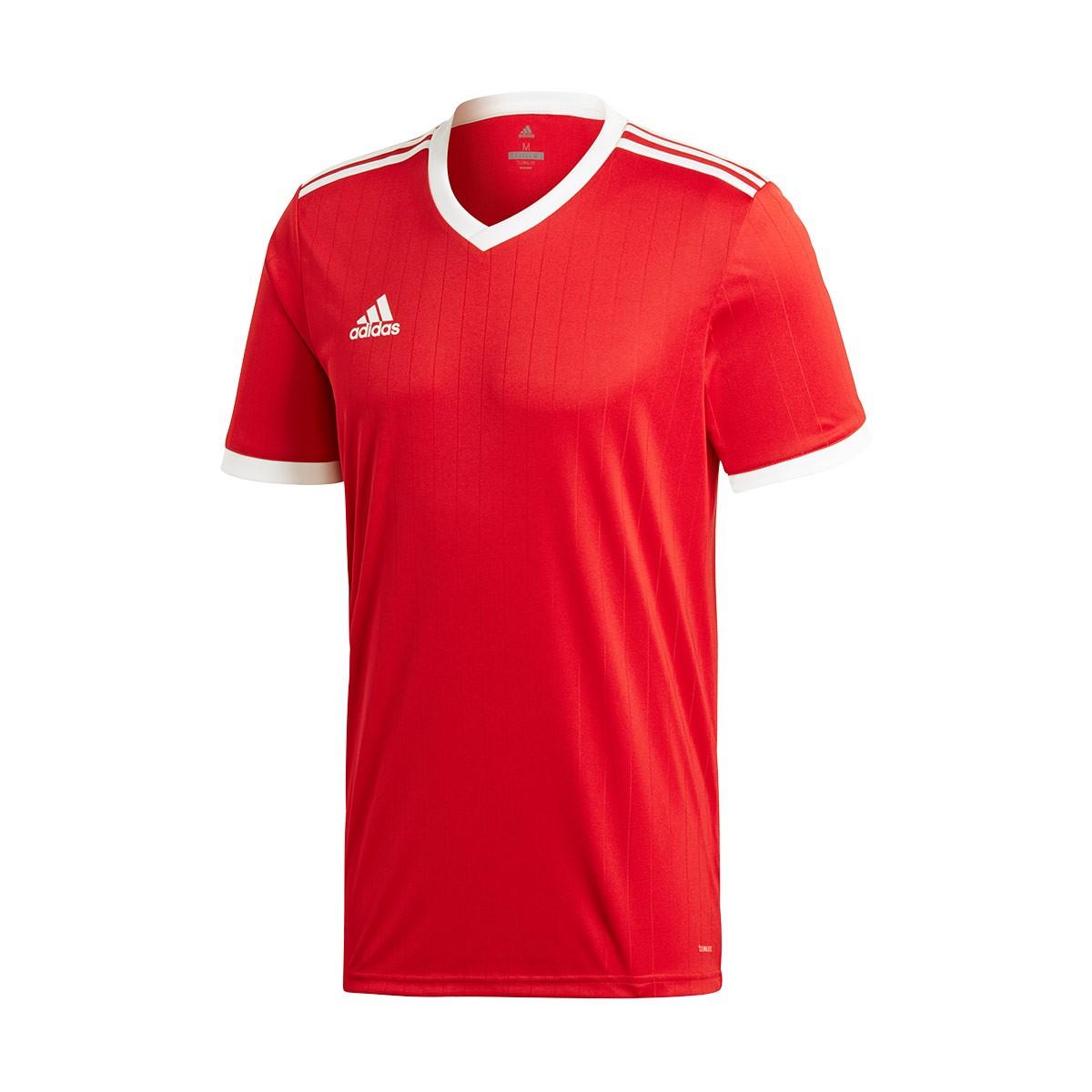 437075109 Jersey adidas Tabela 18 m/c Power red-White - Tienda de fútbol Fútbol  Emotion