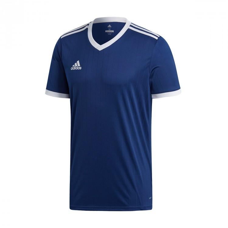 02db39165 Jersey adidas Tabela 18 m/c Dark blue-White - Tienda de fútbol ...