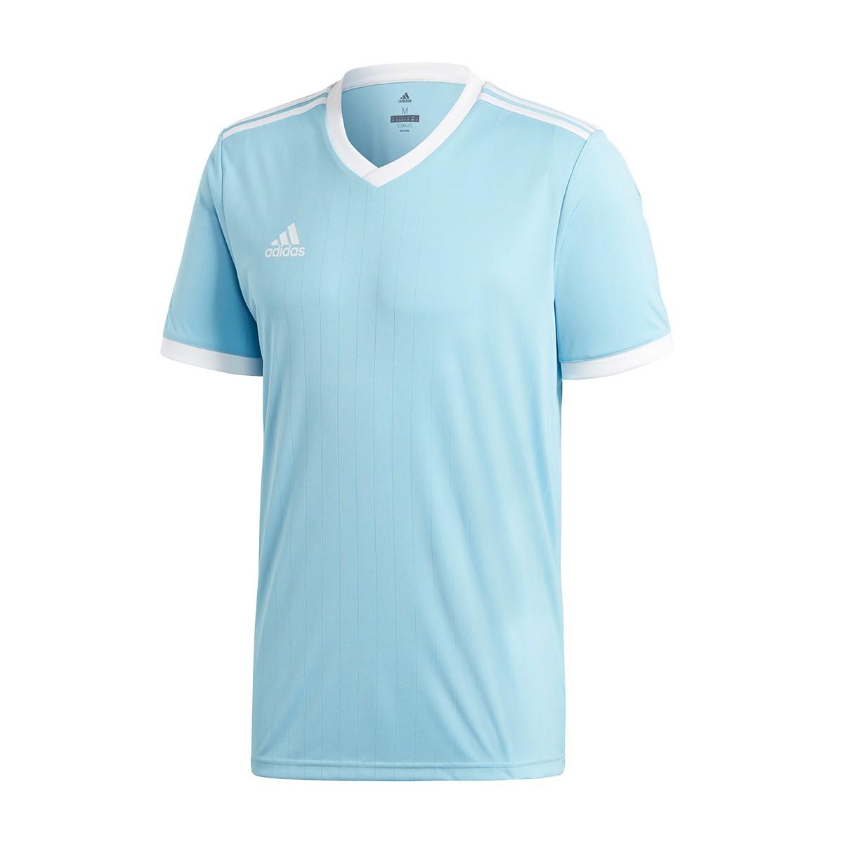 15afeaf7f Jersey adidas Tabela 18 m/c Clear blue-White - Tienda de fútbol ...