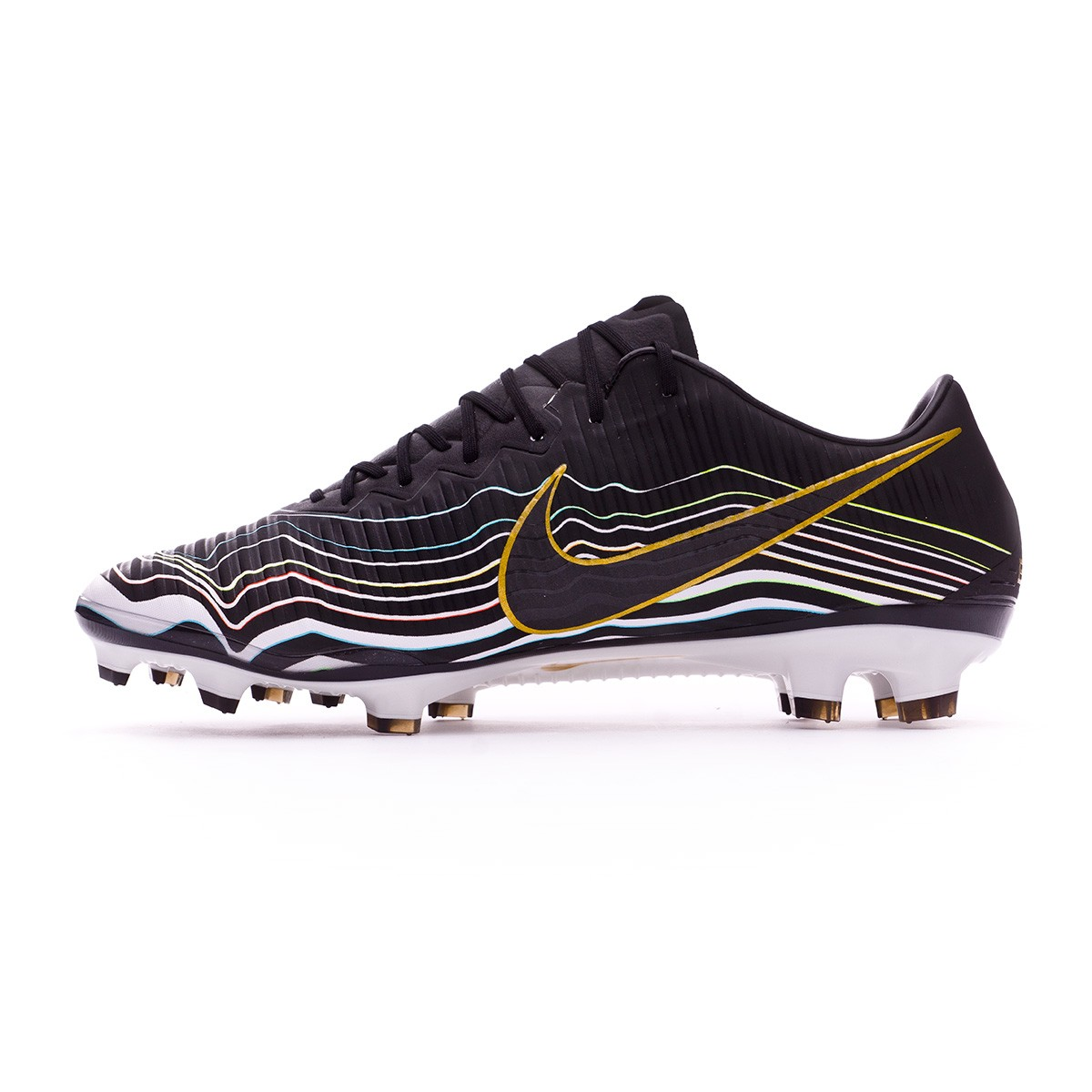 06ccc9d53472 Football Boots Nike Mercurial Vapor XI ACC BHM Equality FG Black-Gamma  blue-Metallic gold - Football store Fútbol Emotion